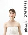ブライダルビューティーショット 外国人女性 27676763