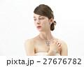 ブライダルビューティーショット 外国人女性 27676782