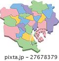 23区 東京 東京都のイラスト 27678379