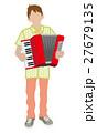 アコーディオン奏者 27679135