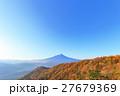 三つ峠 紅葉と富士山 27679369