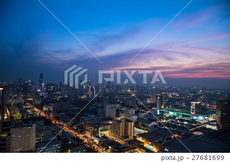 バンコクの夜景 27681699
