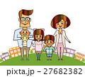 家族 ファミリー 人物のイラスト 27682382