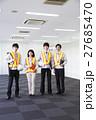オフィス チーム 笑顔の写真 27685470