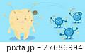 バクテリア バイキン ばい菌のイラスト 27686994