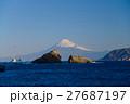 雲見 西伊豆 富士山の写真 27687197