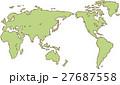 ベクター 地図 世界のイラスト 27687558