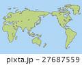 ベクター 地図 海のイラスト 27687559