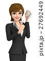 女性 ビジネス ビジネスウーマンのイラスト 27692449