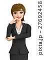 女性 ビジネス ビジネスウーマンのイラスト 27692458