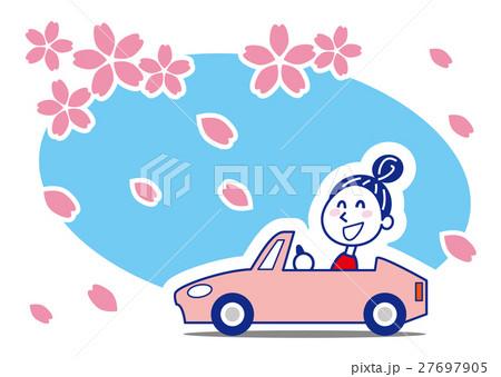 桜吹雪 ドライブお姉さん 27697905
