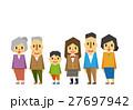 ファミリー【フラット人間・シリーズ】 27697942