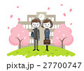 入学式イメージ:男の子と女の子 27700747