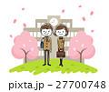 入学式イメージ:男の子と女の子 27700748