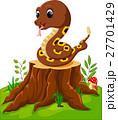 ヘビ 蛇 マンガのイラスト 27701429