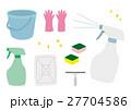 掃除用具 イラスト 27704586