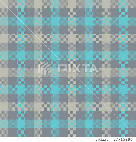 Blue gray check tablecloth seamless patternのイラスト素材 [27715390] - PIXTA