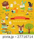 ベクトル 動物 ブックのイラスト 27716714