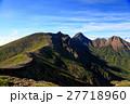 八ヶ岳 夏山 山岳の写真 27718960