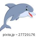 いるか イルカ 海豚のイラスト 27720176