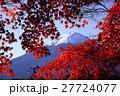 紅葉と富士山02 27724077