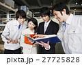 倉庫 運輸 物流 運送 会議 タブレット 打ち合わせ 流通 輸送 ビジネス ミーティング 27725828