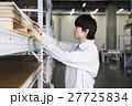 倉庫 男性 作業服の写真 27725834