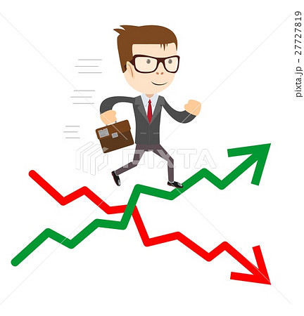 Raise and fall of business indicators. 27727819