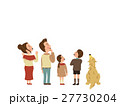 家族 ファミリー 人物のイラスト 27730204