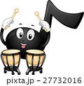 Music Note Mascot Timpani 27732016