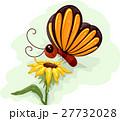 チョウ 蝴蝶 蝶のイラスト 27732028