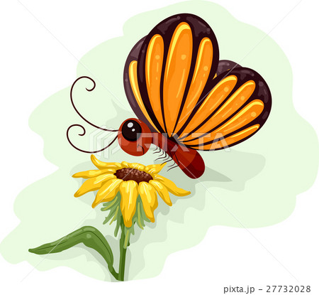 Butterfly Flower Pollination 27732028