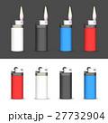 ライター 炎 セットのイラスト 27732904