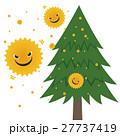 花粉 花粉アレルギー 杉の木のイラスト 27737419