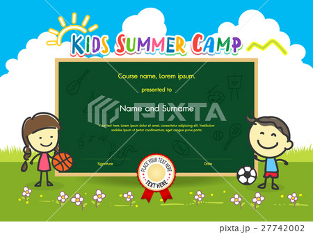 Kids summer camp diploma certificate template kids summer camp diploma certificate template yelopaper Choice Image