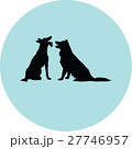 dog silhouette 27746957