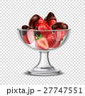 チョコレート いちご デザートのイラスト 27747551