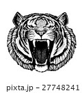 Vector tiger for tattoo, sport logo, t-shirt 27748241