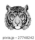 Vector tiger for tattoo, sport logo, t-shirt 27748242