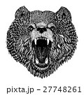 Wild bear Vector image for tattoo, t-shirt 27748261