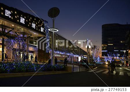 中央線 武蔵境駅北口 夜景 27749153