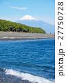 三保の松原 富士山 海の写真 27750728