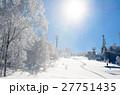 青空と樹氷 27751435
