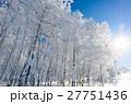 青空と樹氷 27751436