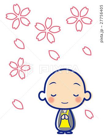 桜 お坊さん 27756405