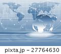 抽象 地図 デジタルのイラスト 27764630