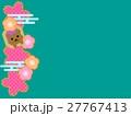 くま和柄 27767413
