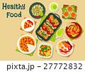 食 料理 食べ物のイラスト 27772832