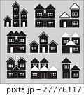 house icons set 27776117