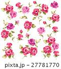 薔薇 花 花柄のイラスト 27781770